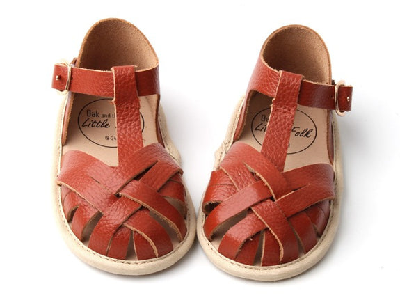 Clay Fawn Sandals
