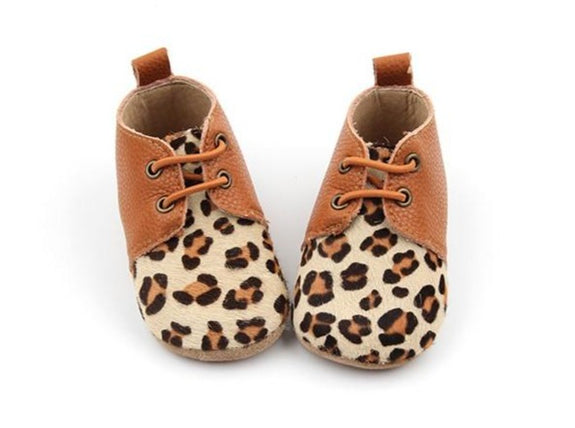 Leopard Print Oxfords