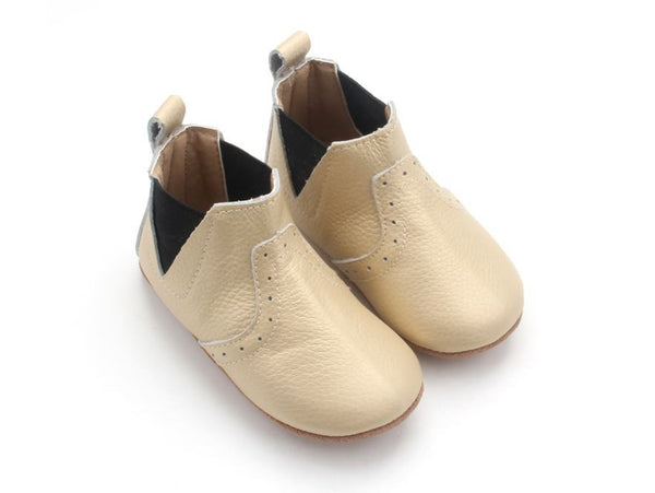 CLEARANCE 'Matte Gold' Boots | Soft Soled