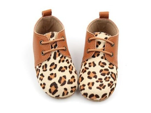 'Leopard' Oxfords | Hard Soled