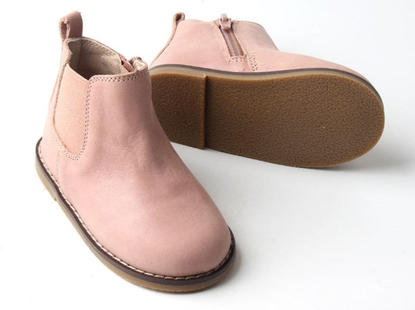 PREORDER | 'Blush' Boots | Hard Soled | Waxed Leather
