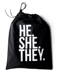 HE.SHE.THEY. Luxe Long Sleeve T-shirt Package