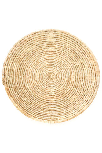 All Natural Tuareg Date Palm Basket from Niger