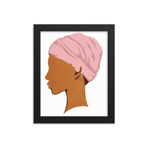 Headwrap Queen Digital Print