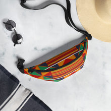 Load image into Gallery viewer, Kente Print Fanny Pack