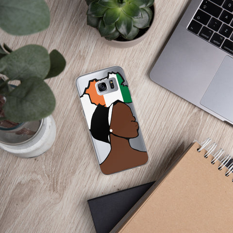 Cote d'Ivoire Head Wrap Queen Samsung Case