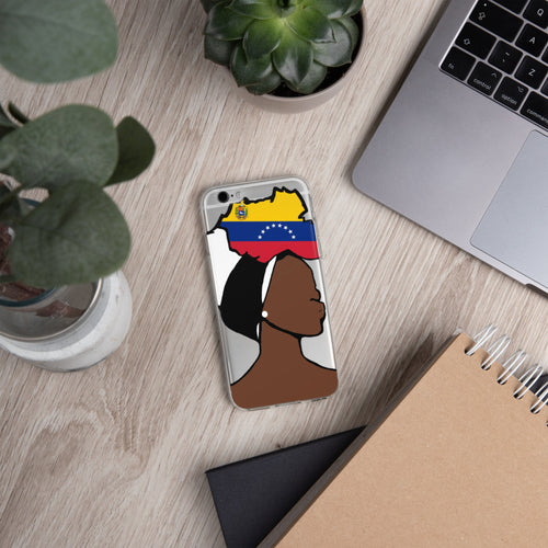 Venezuela Head Wrap Queen iPhone Case
