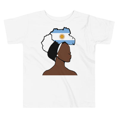Argentina Head Wrap Queen Toddler Premium Tee