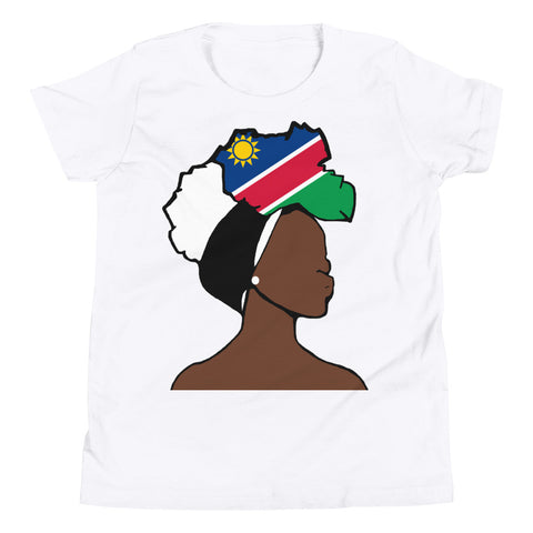 Namibia Head Wrap Queen Youth Premium Tee