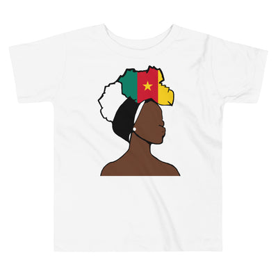 Cameroon Head Wrap Queen Toddler Premium Tee