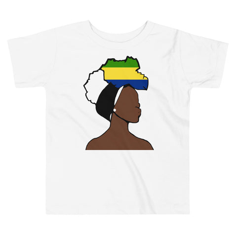 Gabon Head Wrap Queen Toddler Premium Tee