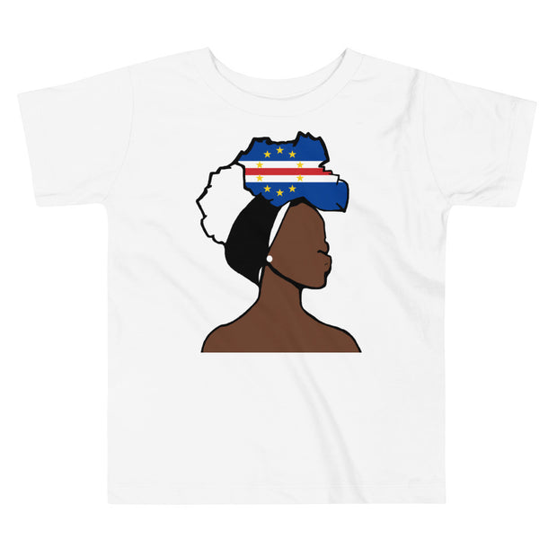 Cape Verde Head Wrap Queen Toddler Premium Tee