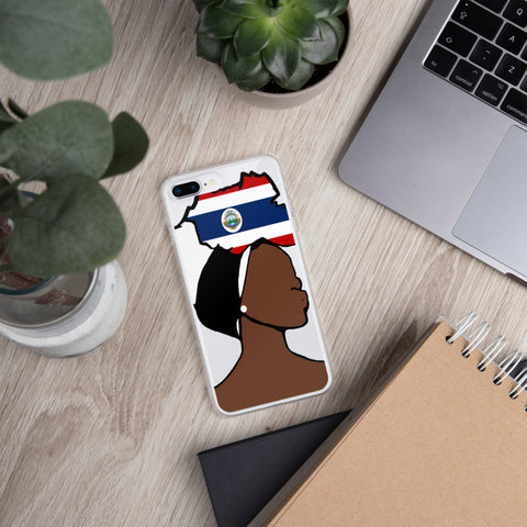 Costa Rica Head Wrap Queen iPhone Case