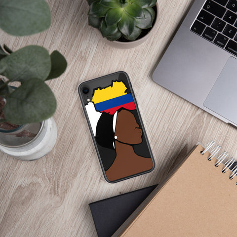 Sudan Head Wrap Queen iPhone Case