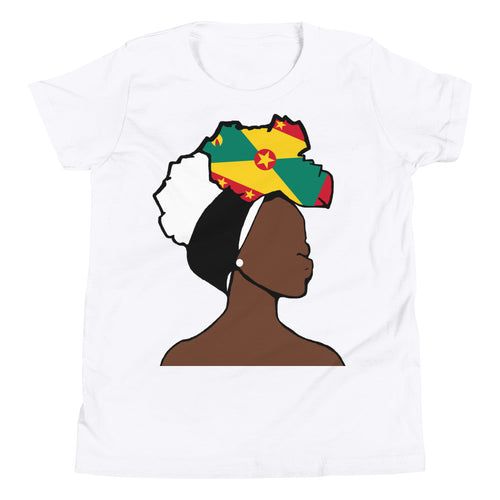 Grenada Head Wrap Queen Youth Premium Tee