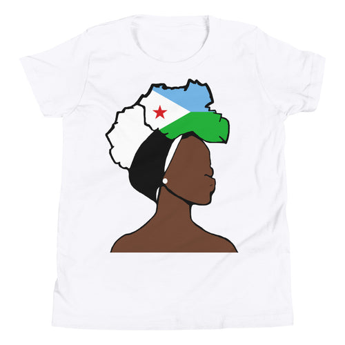 Djibouti Head Wrap Queen Youth Premium Tee