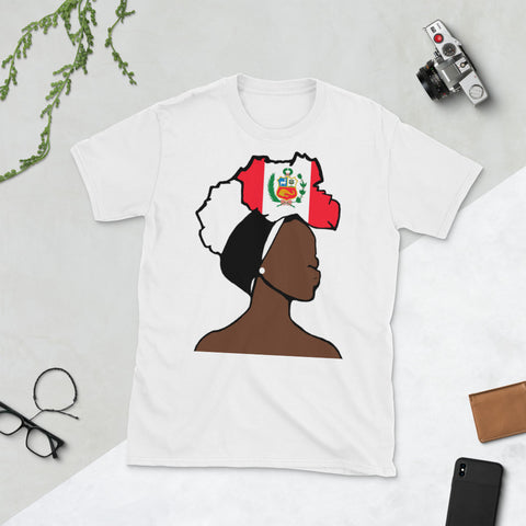 Peru Head Wrap Queen Unisex T-shirt