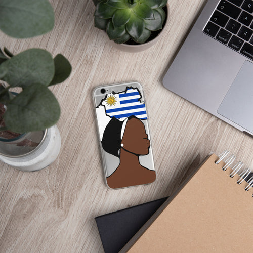 Uruguay Head Wrap Queen iPhone Case