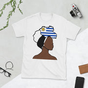 Uruguay Head Wrap Queen Unisex T-shirt