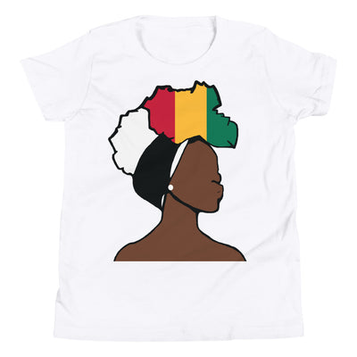 Guinea Head Wrap Queen Youth Premium Tee