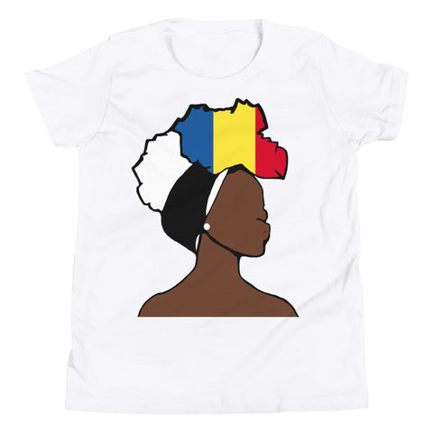 Chad Head Wrap Queen Youth Premium Tee