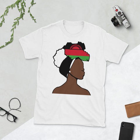 Malawi Head Wrap Queen Unisex T-shirt