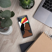Seychelles Head Wrap Queen iPhone Case