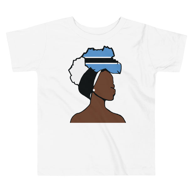 Botswana Head Wrap Queen Toddler Premium Tee