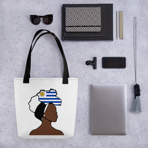Uganda Head Wrap Queen Tote Bag