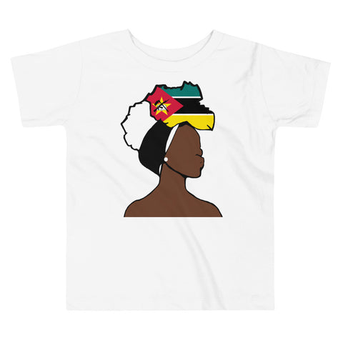 Mozambique Head Wrap Queen Toddler Premium Tee