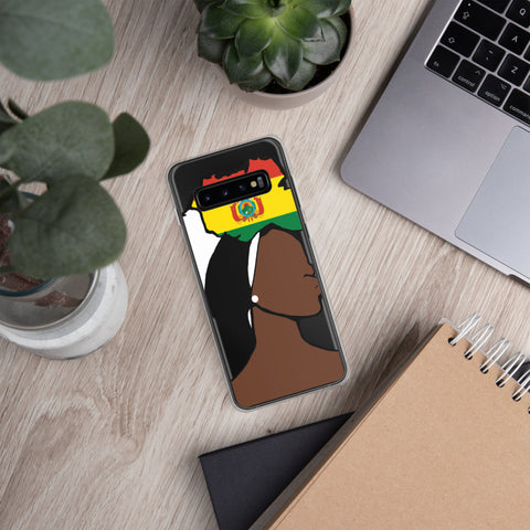 Bolivia Head Wrap Queen Samsung Case