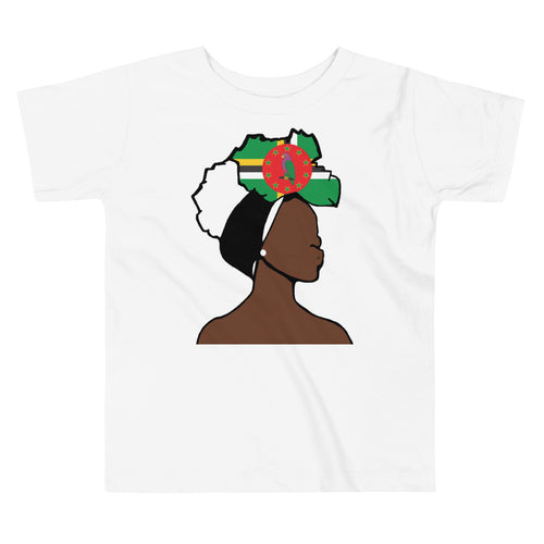 Dominica Head Wrap Queen Toddler Premium Tee