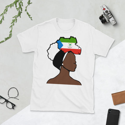 Eq Guinea Head Wrap Queen Unisex T-shirt