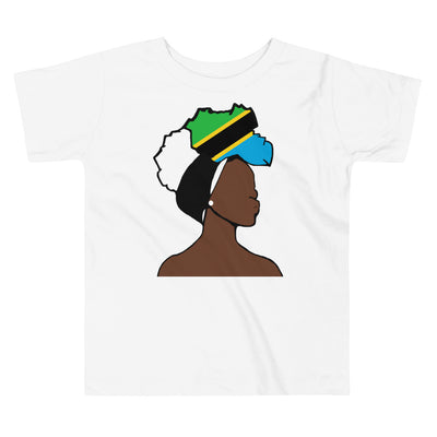 Tanzania Head Wrap Queen Toddler Premium Tee