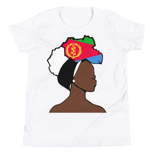 Eritrea Head Wrap Queen Youth Premium Tee