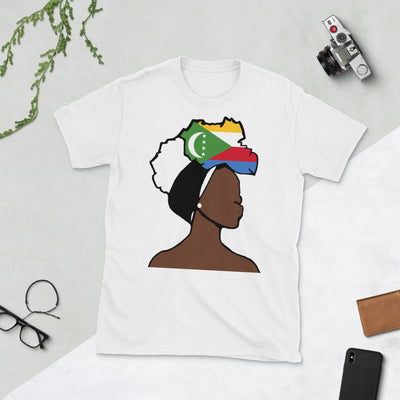 Comoros Head Wrap Queen Unisex T-shirt