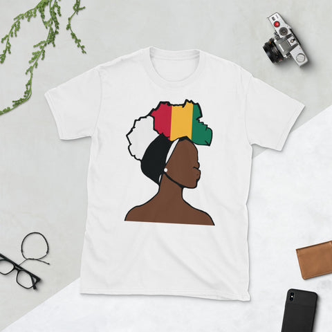 Guinea Head Wrap Queen Unisex T-shirt