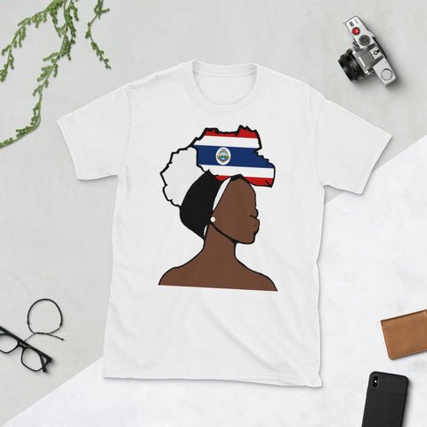 Costa Rica Head Wrap Queen Unisex T-shirt