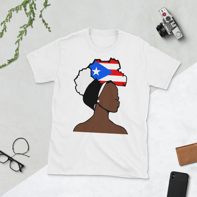 Puerto Rico Head Wrap Queen Unisex T-shirt
