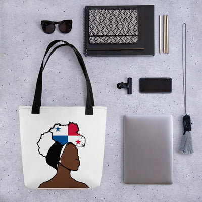 Panama Head Wrap Queen Tote Bag