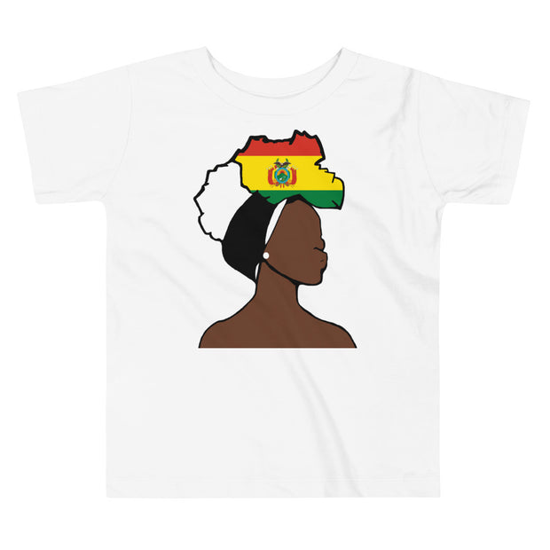 Bolivia Head Wrap Queen Toddler Premium Tee