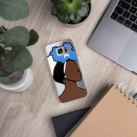 Somalia Head Wrap Queen Samsung Case