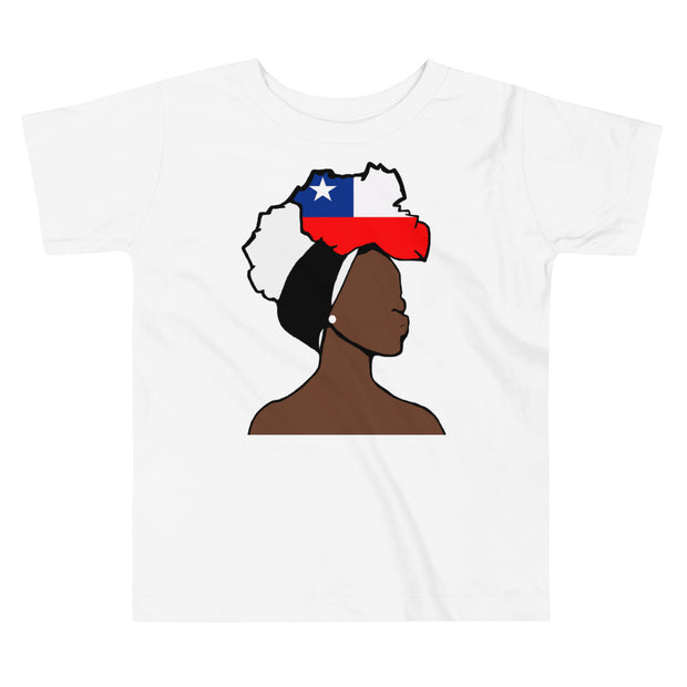Chile Head Wrap Queen Toddler Premium Tee