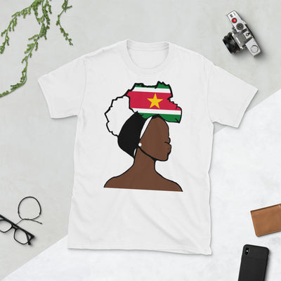 Suriname Head Wrap Queen Unisex T-shirt