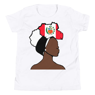 Peru Head Wrap Queen Youth Premium Tee