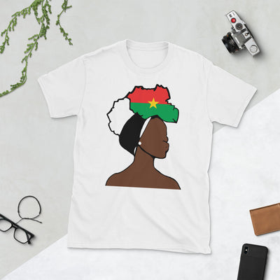 Burkina Faso Head Wrap Queen Unisex T-shirt