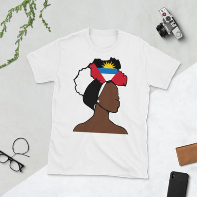 Antigua and Barbuda Head Wrap Queen Unisex T-shirt