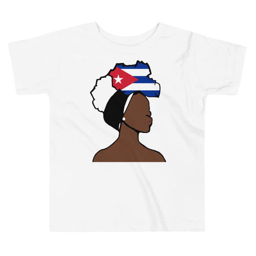 Cuba Head Wrap Queen Toddler Premium Tee