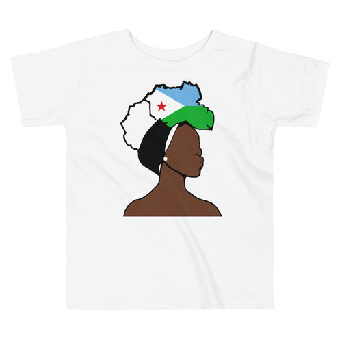 Djibouti Head Wrap Queen Toddler Premium Tee