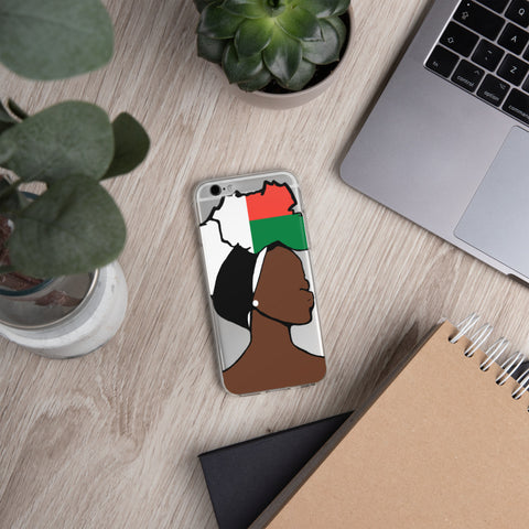 Madagascar Head Wrap Queen iPhone Case
